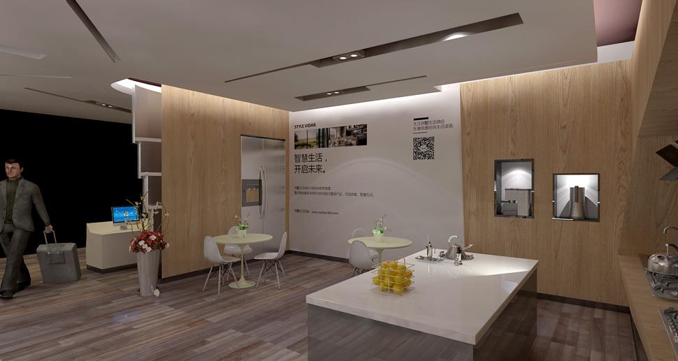 艾图跨界作品之style vidar 智能家居定制体验馆品牌空间系统设计图片